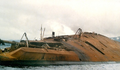 Tirpitz Battleship Wreck